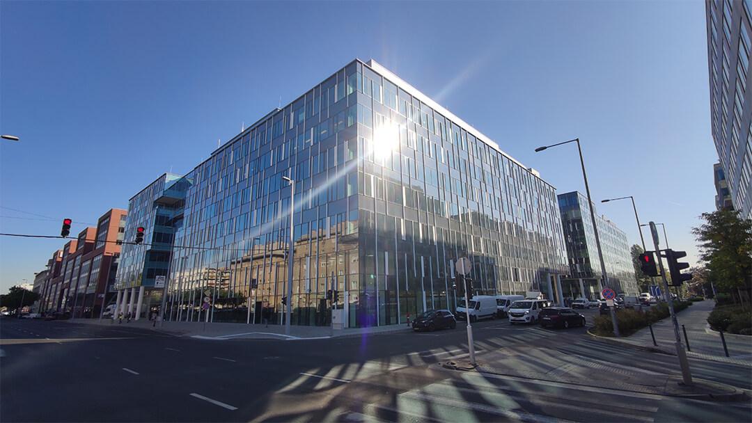 Building Solutions | Referencia munka | Váci Greens E épület