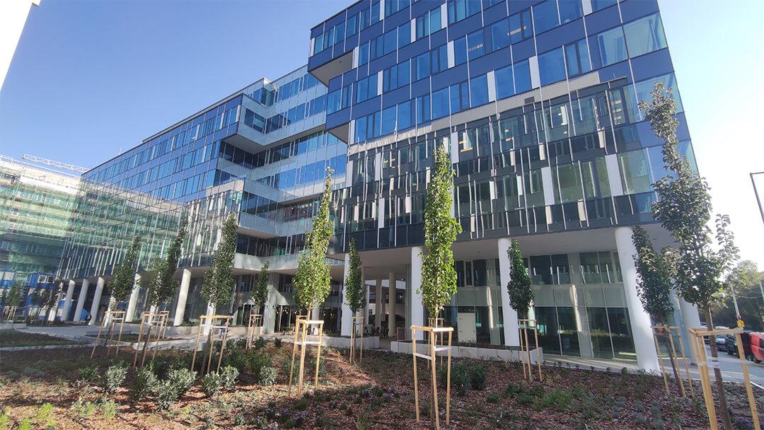 Building Solutions | Referencia munka | Váci Greens F épület